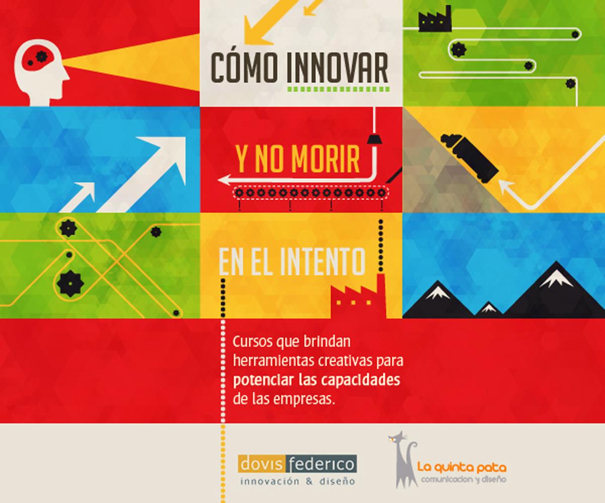 cómo innovar y no morir en el intento creatividad innovación diseño empresa capacitación